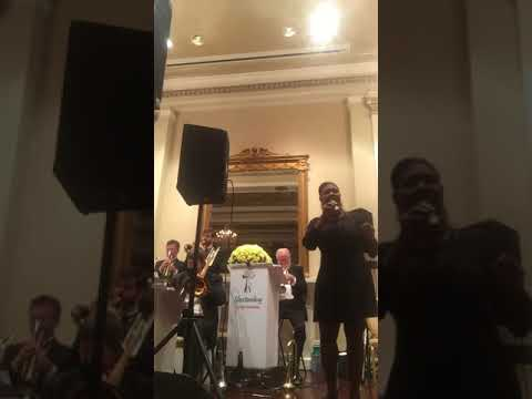 Performing Summertime wit Orchestra at a Private Event