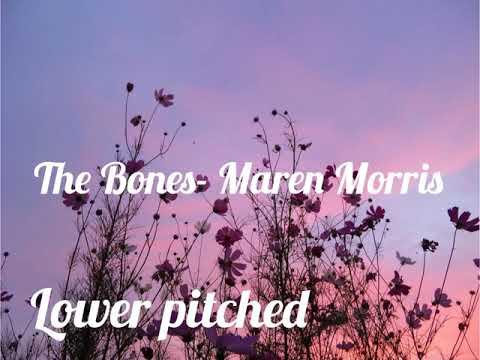 Maren Morris- The Bones (lower pitched)