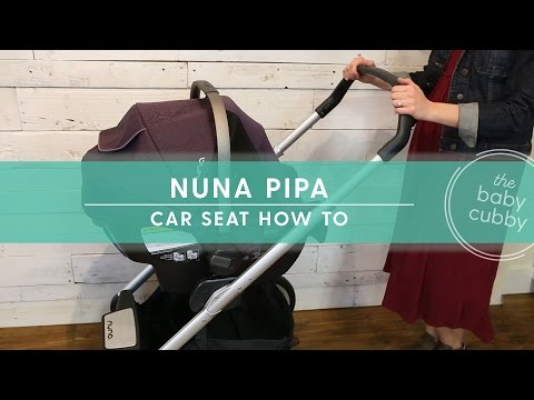 Nuna Pipa Car Seat HOW-TO Installation & Travel System
