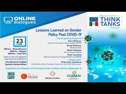 Webinar:  Lessons Learned on Gender Policy Post COVID 19