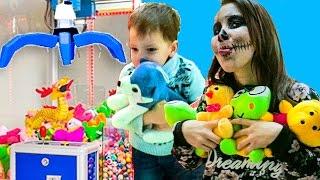 Новый АВТОМАТ С ИГРУШКАМИ 🎰 Как достать 4 игрушки подряд из аппарата 🎰 Челлендж Схватить и удержать