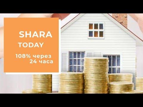 SHARA TODAY Latypay L400004 отзывы 2019, обзор, платит, Прибыль 108% за 24 часа