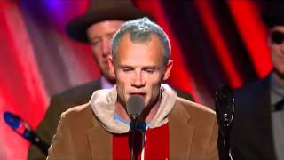 Red Hot Chili Peppers into the Rock And Roll Hall Of Fame - Part 2: The Chili Peppers speak.