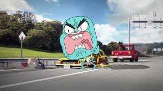Nicole Watterson Rages at Larry Needlemeyer - THE AMAZING WORLD OF GUMBALL