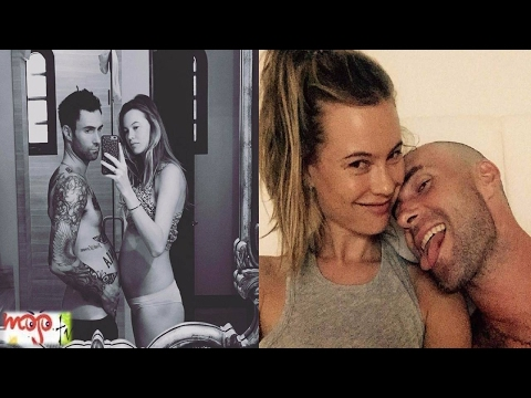 Adam Levine & Behati Prinsloo's Beautiful Moments Ever Mp3