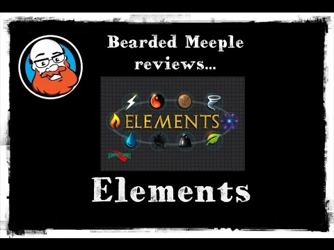 Bearded Meeple reviews Elements