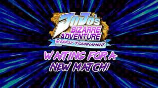 JoJo's Bizarre Adventure Heritage For The Future Weekly Tournament Part 2 'Laggy Tendency'