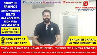 Study in France | Requirements and Procedure for Indian Students