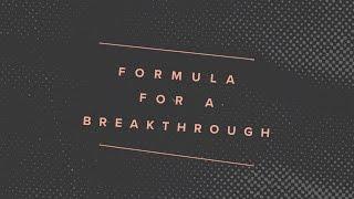 """Formula for a Breakthrough"" with Jentezen Franklin"