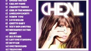 Cheryl Cole A million lights  album clip of songs.