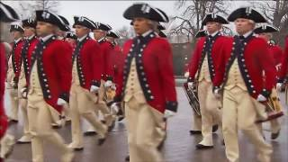 Дональд Трамп принял свой первый парад в качестве президента США