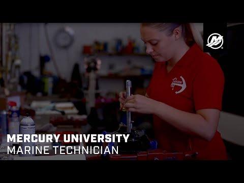 Mercury University Marine Technician - YouTube