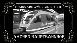 preview picture of video 'DB Aachen Hbf'