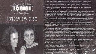Tony Iommi w/ Glenn Hughes 'The 1996 DEP Sessions' Interview 2004
