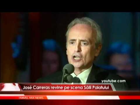 José Carreras revine pe scena Salii Palatului