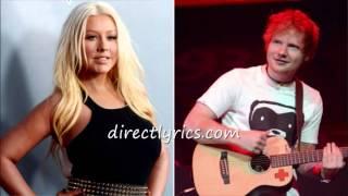 "Ed Sheeran Christina Aguilera ""Dirrty"" Cover on BBC Radio 1 Live Lounge"