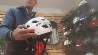 Der richtige Fahrradhelm und dann noch einstellen