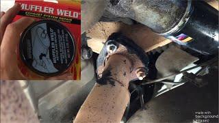 Exhaust/Manifold leak Repair. Under $10 budget
