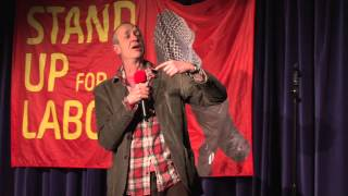 Arthur at Standup For Labour