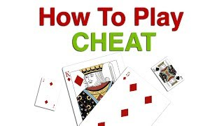 How To Play Cheat, BS, Bluff or I Doubt It Card Game   Learn BS, Bluff, Cheat Card Game Rules
