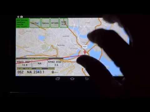 Video of VFR+ GPS Airplane Navigation
