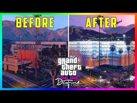 GTA 5 Online The Diamond Casino & Resort DLC Update - NEW FEATURES! Helipad, Infinity Pool & MORE!