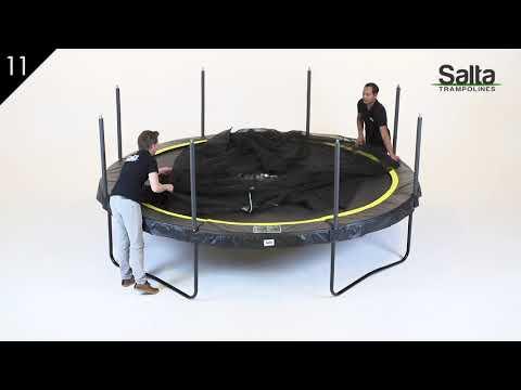 Salta Comfort Edition trampoline rond