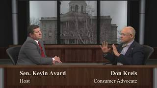 NH Senator Avard speaks with Don Kreis, Consumer Advocate about the PUC & energy