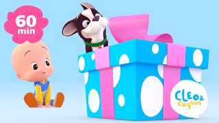 Cuquin's Balloons and more learning videos of Cleo and Cuquin | Songs for kids