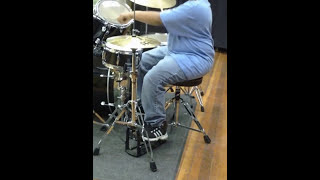 9year old Hezekiah Drum Cover Mint Condition's Sometimes