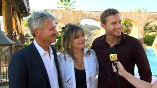 Watch Pilot Pete Give His Parents a Tour of The Bachelor Mansion (Exclusive)