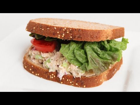 Homemade Tuna Salad Sandwich Recipe – Laura Vitale – Laura in the Kitchen Episode 909