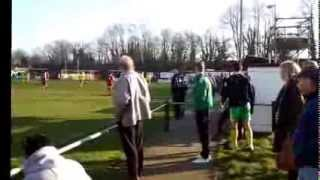 preview picture of video 'Beckenham Town 4 - 2 Ashford Utd  08/03/14'