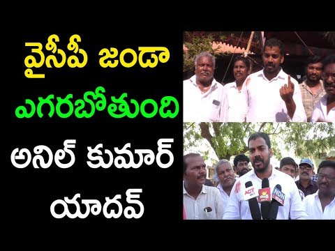 MLA Anil Kumar Yadav About Election Vote Casting Polling At Nellore In AP 2019 | Cinema Politics