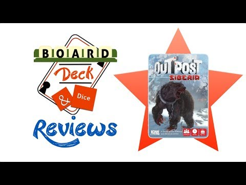 Board, Deck and Dice Review #137 - Outpost Siberia
