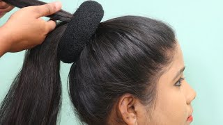 Quick And Easy Juda Hairstyle | Beautiful Hairstyles For Special Occasions