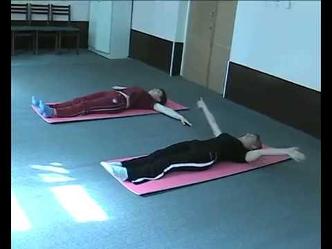 Сутулость упражнения для детей