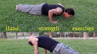 تمارين الاعصاب والقوة تجعلك رجل حديدي Hand strength exercises