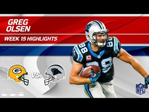 Greg Olsen Highlights | Packers vs. Panthers | NFL Wk 15 Player Highlights