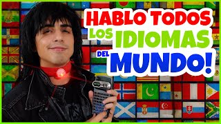Daniel El Travieso - HABLO TODOS LOS IDIOMAS DEL MUNDO!