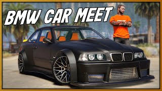 GTA 5 Roleplay - Taking Rare BMW M3 to BMW 'Only' Car Meet | RedlineRP #930
