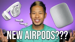 New AirPods, HomePod and Apple Headphones in early 2019