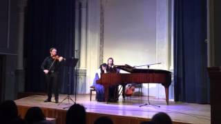 Beethoven. The Kreutzer Sonata (part).