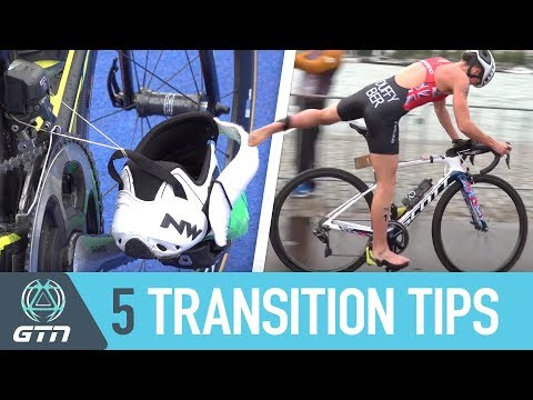 Transition From The Swim To Bike Faster | Top 5 T1 Tips