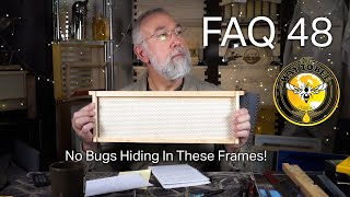 Beginner Beekeeping Questions and Answers Episode 48 Keeping SHB out of Acorn Heavy Waxed Frames
