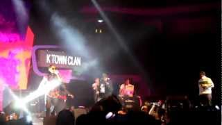 K Town Clan performs Party Animal at the Hitz Birthday Invasion 2012 (fancam)