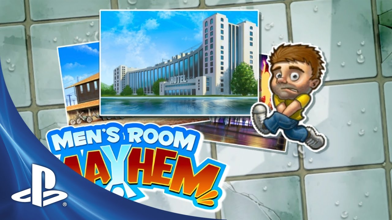 Men's Room Mayhem Queues Up On PS Vita Today