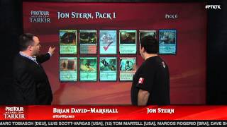 Pro Tour Khans of Tarkir Draft Viewer with Jon Stern