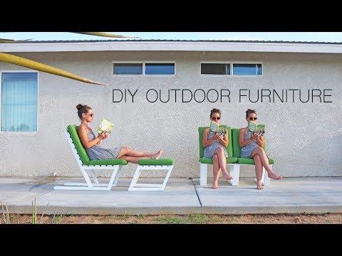 DIY 2×4 Furniture | Modern Outdoor Furniture