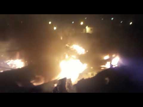 Incêndio destrói supermercado em Aquidabã, interior de Sergipe